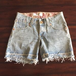 Levi's 504 Slouch Style Jean Shorts